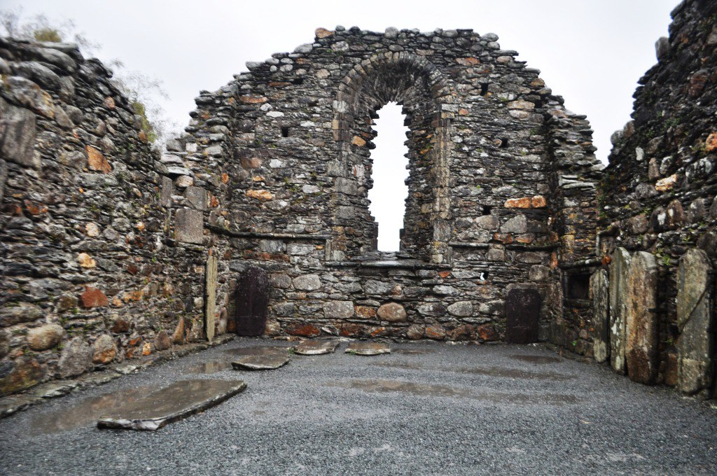 Abbey in Glendalough