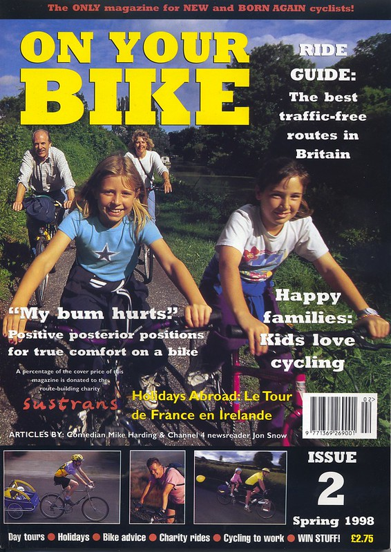 On Your Bike magazine, issue 2, Spring 1998