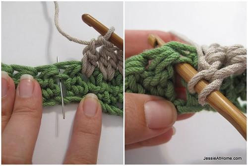 Faded-Ripple-Free-Crochet-Pattern-Between-Clusters