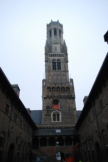 Image of  Market Halls. tower belgium belltower belfry bruges belfort medievalbelltower