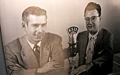 Jack Buck and Harry Carey - St. Louis Cardinals Radio Broadcasters, 1954