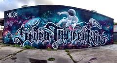 SevenThirteenKings Pano Houston Graffiti #clubnox   10-2013