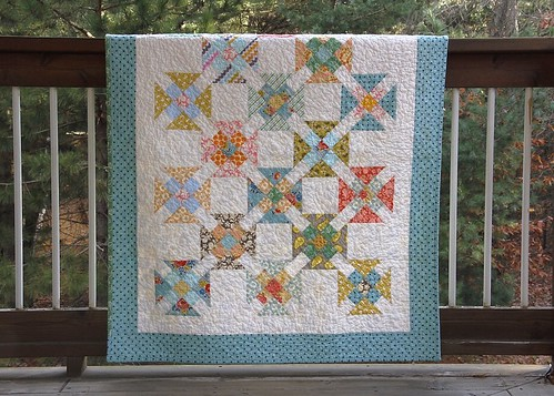 Double Wrench Baby Quilt - a