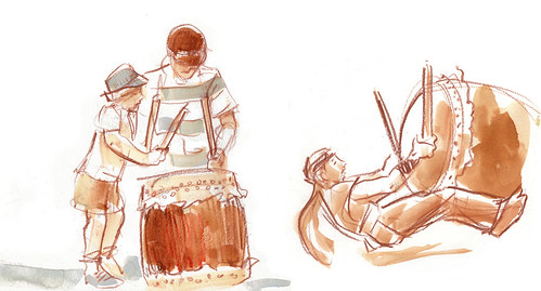 Taiko Drummers #2