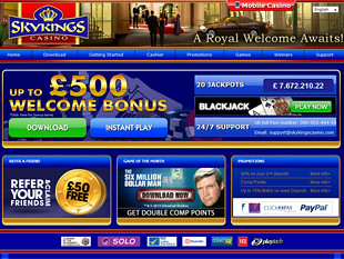 Sky Kings Casino Home