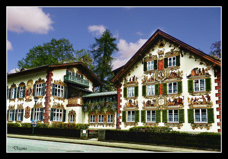 Hansel and gretel house oberammergau baviera germany - Hansel home ...