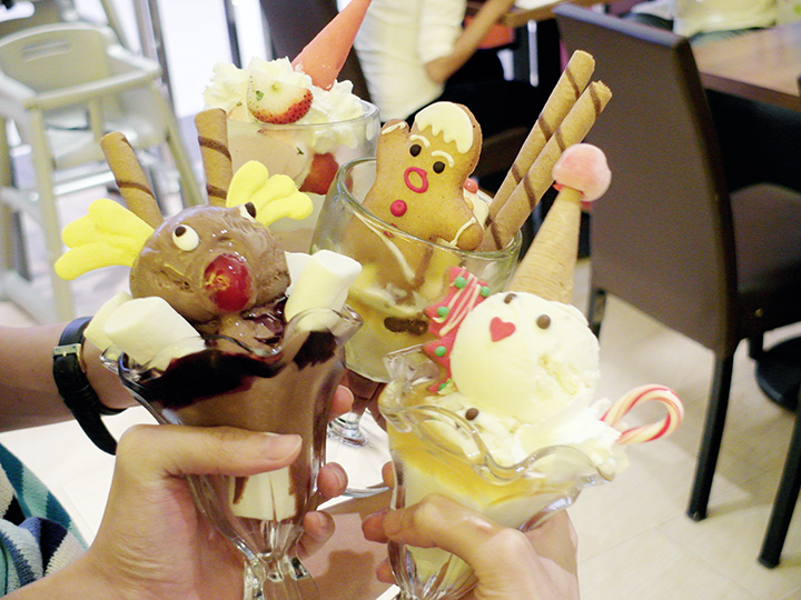 swensens christmas ice cream