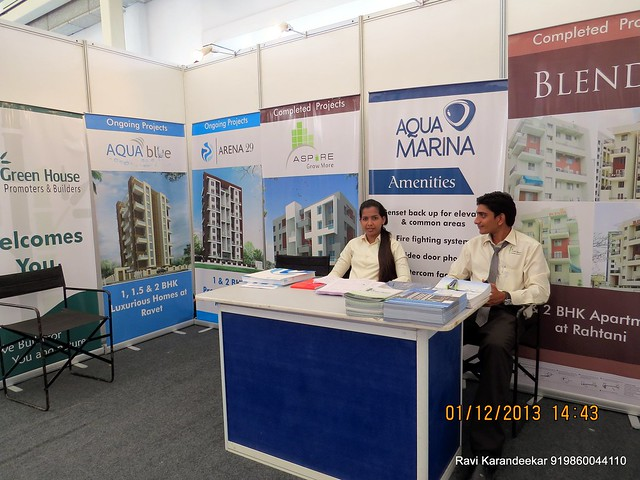 www.greenhouseventures.in Aqua Blue & Aqua Marina Ravet,  Arena 29 Rahatani - 94.3 Radio One Pune  'Dream Property Expo' - Pune Property Exhibition - 30th November & 1st December 2013 at Ramee Grand Hotel, Apte Road, Pune