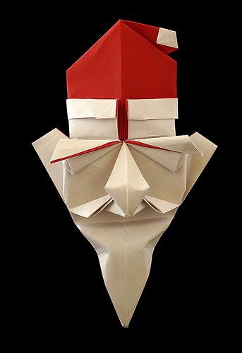 Origami Santa Claus (Yuba Yoshiharu)