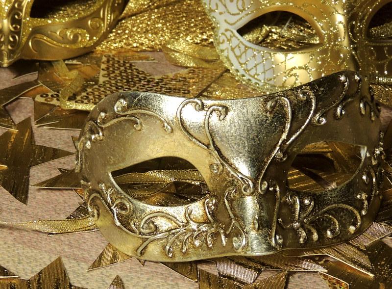 новогодние маски 4