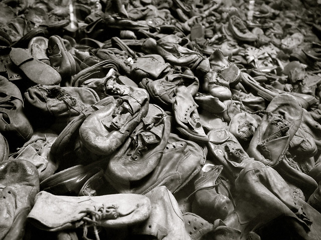 Shoes at Auschwitz I