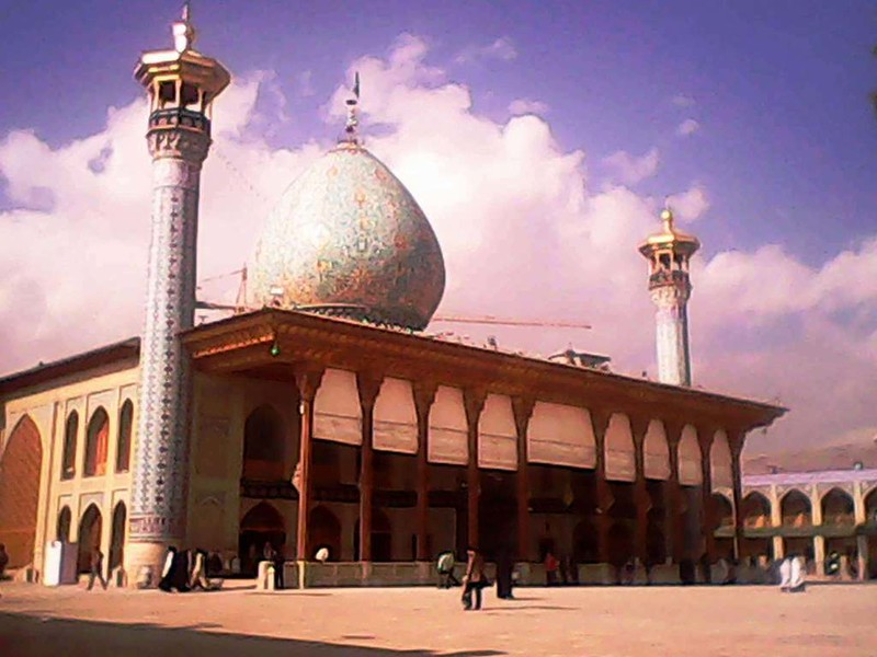 66 mezquita de Sayyed Mir-Ahmad en Shiraz