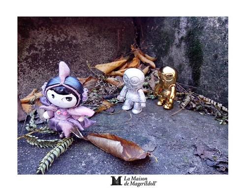 Mageritdoll: Invasive Creatures...Especies Invasoras (Resin Art Doll Jewelry - Joyas de Muñeca. Muñeca artística resina) by La Maison de Mageritdoll