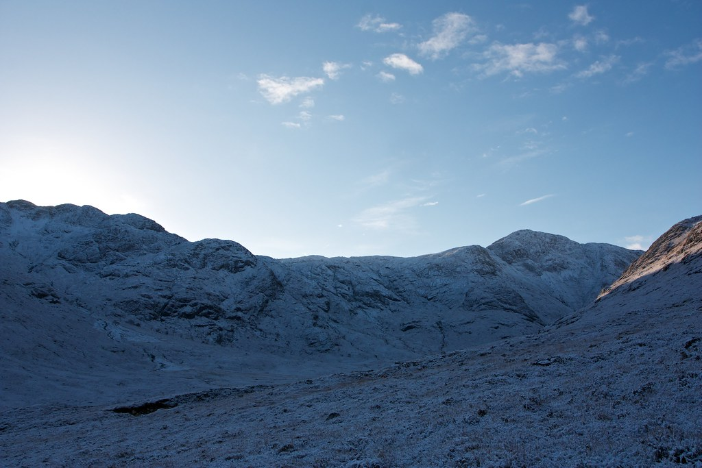 Last light in Upper Glen Gour