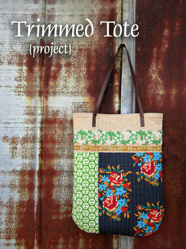 Trimmed Tote for Color Intensive