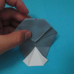 วิธีการพับกระดาษเป็นรูปนกเค้าแมว 017