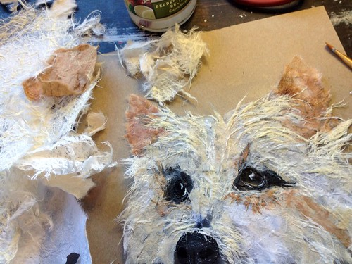 torn-paper-pet-portrait-in-progress