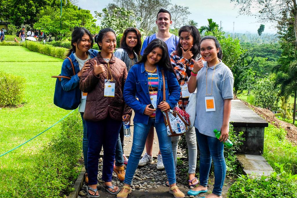 Posing @ Borobudur