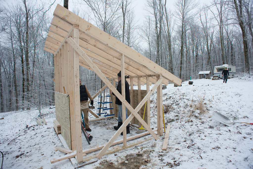 Building the Solar Shed, Part Two: More Framing