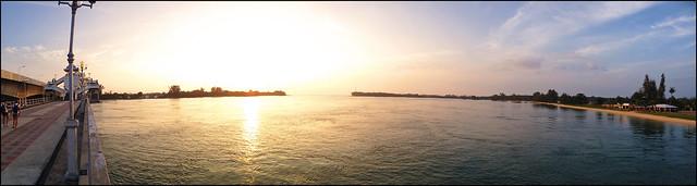 Sarasin Bridge Sunset
