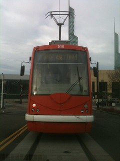 Chasing a streetcar