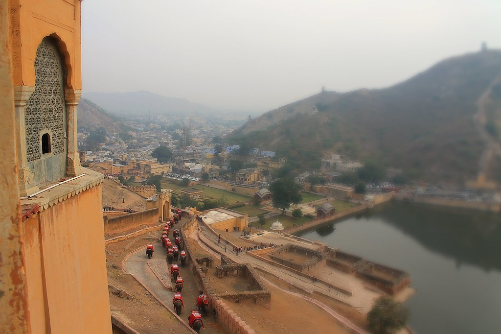 View from Amer Fort, Jaipur