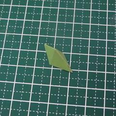 วิธีทำของเล่นโมเดลกระดาษรูปนก (Bird Paper craft ) 006