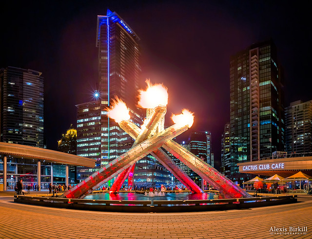 The Olympic Cauldron, Vancouver
