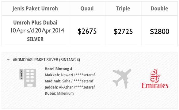 Umroh Plus Dubai 10 april 2014