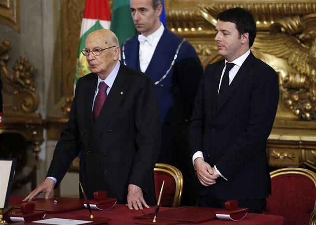 Assist di Napolitano a Renzi. Dura reazione di Grillo