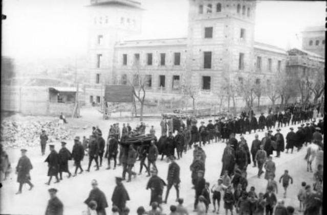 Escuela Normal de Magisterio hacia 1931 © Fondo Rodríguez. Junta de Comunidades de Castilla-La Mancha. Archivo Histórico Provincial
