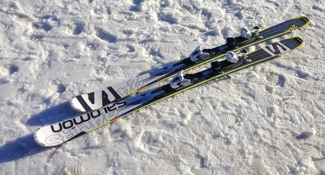 Nouveaux skis Salomon 24HRS
