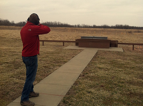 Shooting @ Andy Dalton Range, March 1, 2014