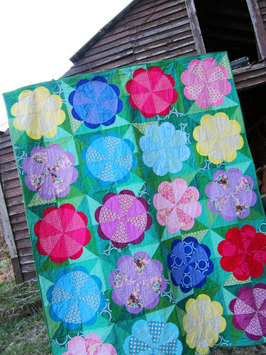 Waltz of the Flowers quilt