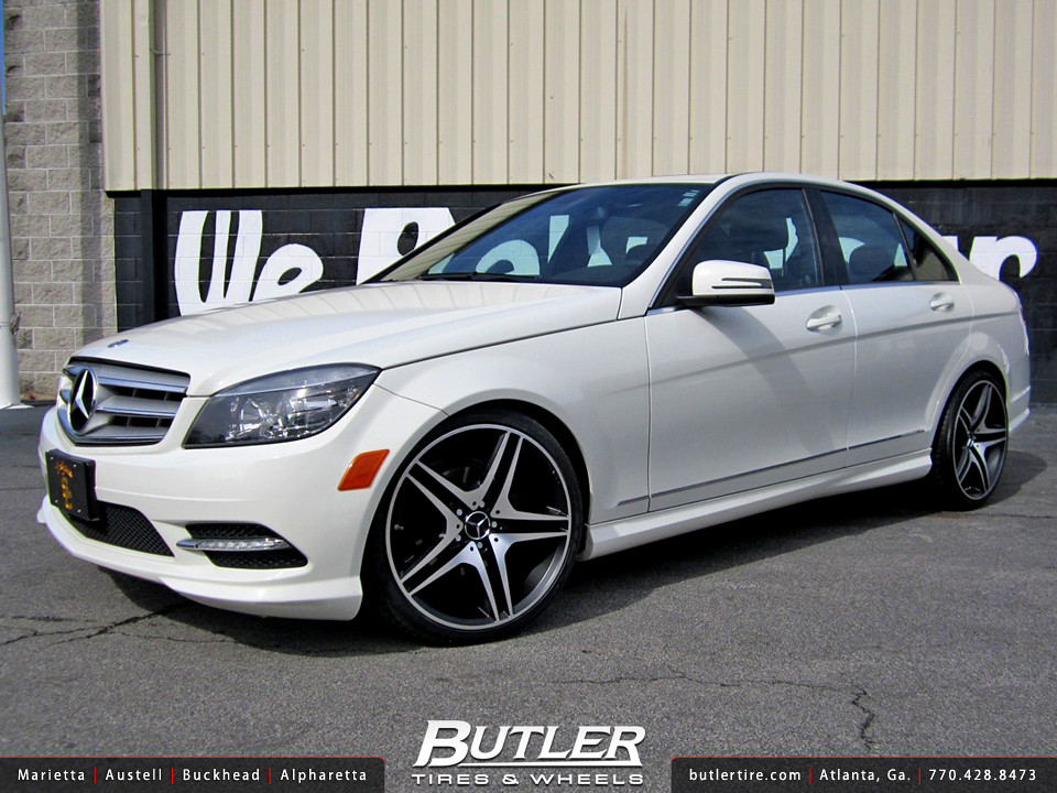 Butler tires and wheels 39 s most interesting flickr photos for Mercedes benz c300 rims