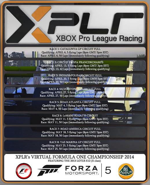 XPLR F1 World Championship - FORZA MOTORSPORT 5 12992141273_16aea8f4cb_z