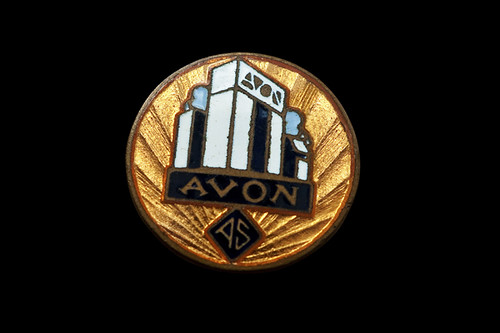 Avon Tyres, Art Deco badge, c1930s