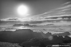 Fog from the ocean