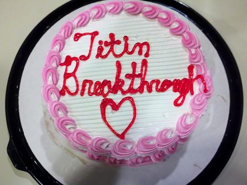 Titin cake