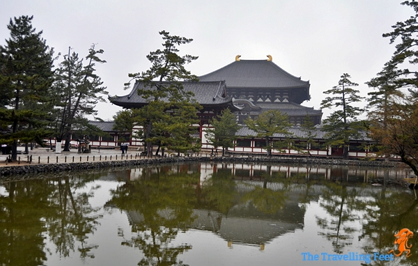 outside the grounds of the Todaiji Temple