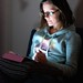 Zoe lit by iPad by Al Power