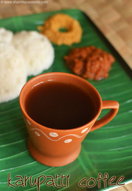 Karupatti Coffee Recipe