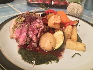 Lamb Shoulder : Finished dish