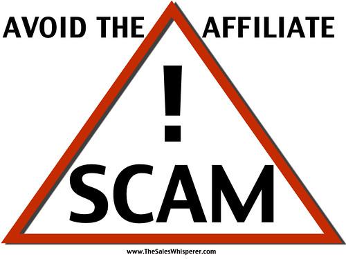 avoid affiliate scams