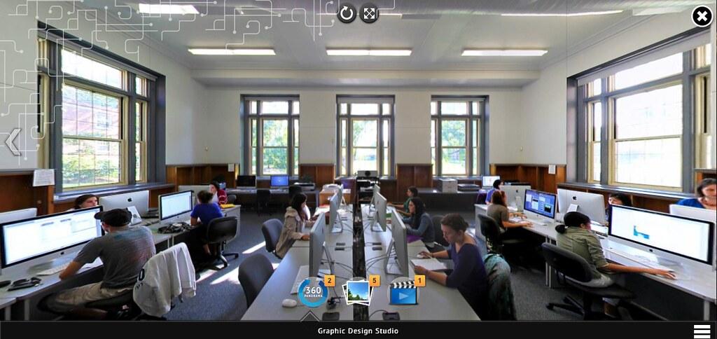 Sala de Aula (360 graus). Site newpaltz.edu