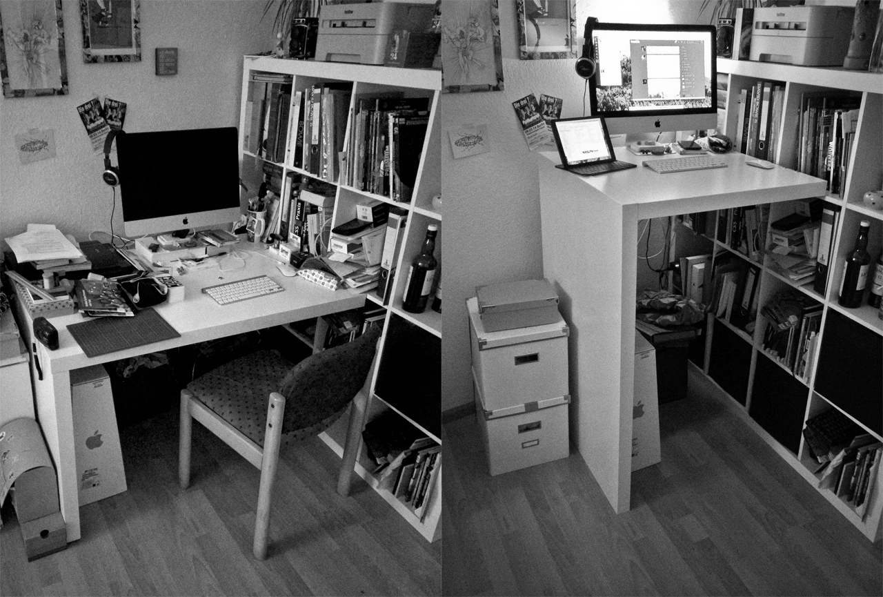 Standing Desk (IKEA Hack)