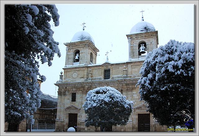 2 Primera nevada en Briviesca 2015