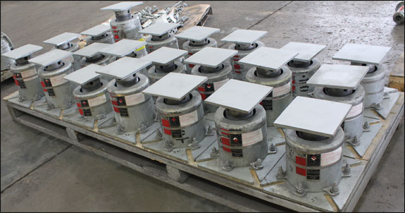 F-Type Variable Spring Supports Designed for an LNG Facility