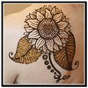 Stylised sunflower