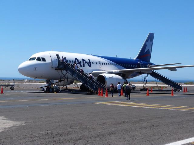Avión de LAN